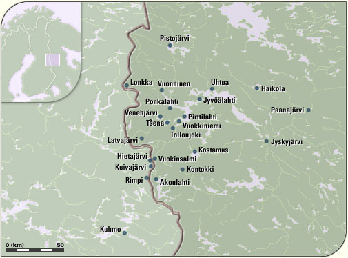 The Viena Folklore Villages Region